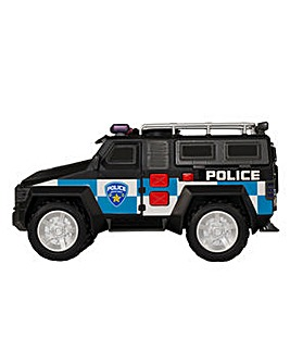 Teamsterz Light & Sound Police 4x4