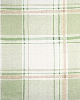 Check Flannelette Fitted Sheet
