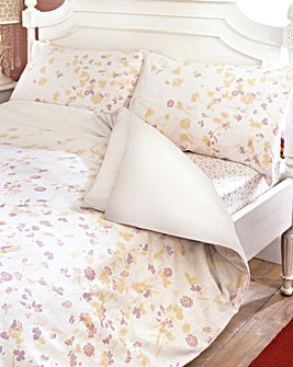 Floral Flannelette Fitted Sheet