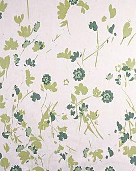 Floral Flannelette Flat Sheet