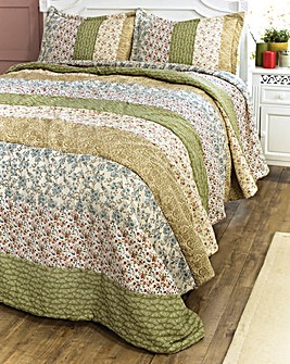 Hand Crafted Patchwork Bedspread Set