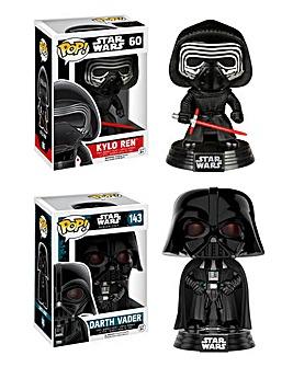 POP! Figure 2pk-Darth Vader & Kylo Ren