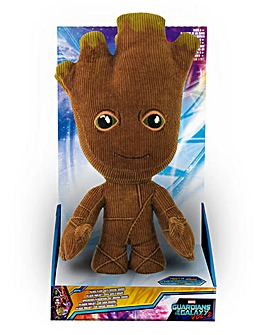 Marvel GOTG Deluxe Talking Plush - Groot