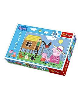30 Piece Peppa Pig Puzzle