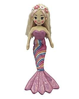 45cm Rag Doll Mermaid