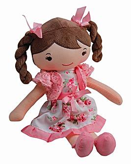 30cm Rag Doll Pink