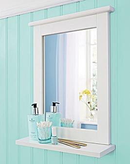 White Mirror and Shelf