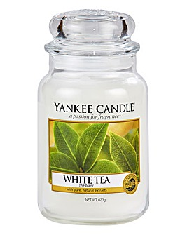 Yankee Candle White Tea Large Jar