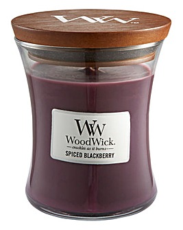 WoodWick Spiced Blackberry Medium Candle