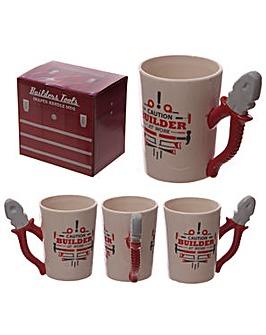Novelty Dads Ceramic Shaped Mug - Pliers