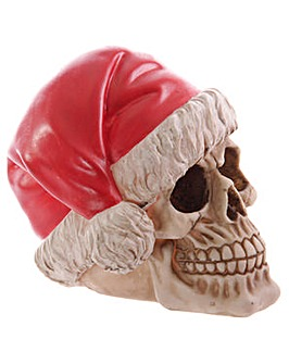 Novelty Skull Decoration - Santa