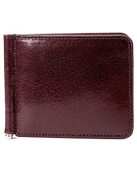 Smith & Canova Card Wallet With Money