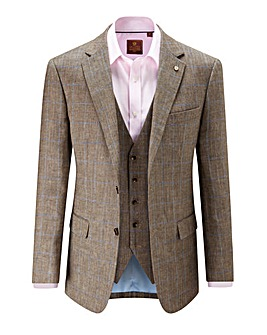 Skopes Charles Brown Check Jacket