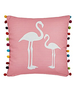Lorraine Kelly Flamingo Cushion