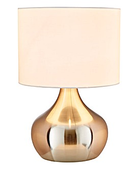 Adele Touch Table Lamp - Brushed Chrome