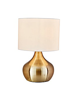 Adele Touch Table Lamp - Brushed Brass