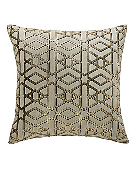 Edric Geo Gold Cushion