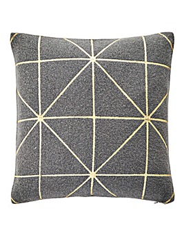 Aria Felt & Gold Cushion