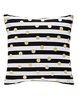Olivia Lines & Spots Cushion