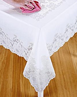 Vinyl Round Tablecloth
