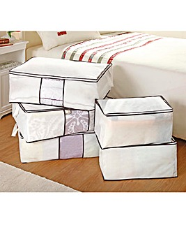Jumbo Storage Bags Set of 3 plus 2