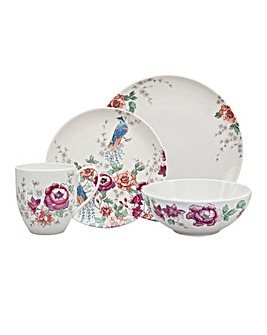 Monsoon Kyoto 16 Piece Boxed Dinner Set