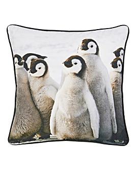 Penguin Printed Cushion