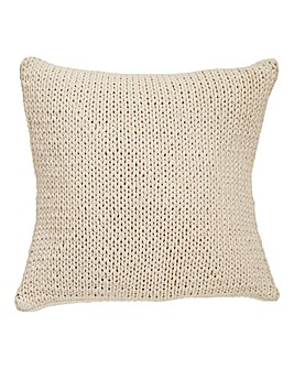 Knitted Natural Cushion