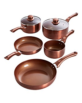 Copper 5pc Panset