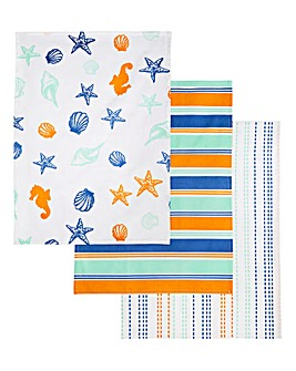 Evora Set of 3 Tea Towels