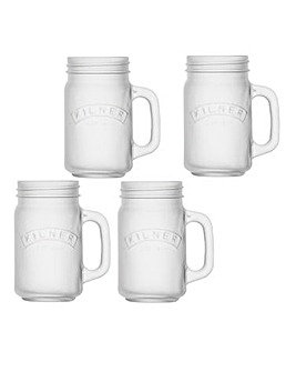 Kilner Frosted 400ml Handled Jar