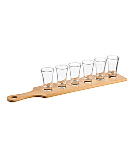 Ravenhead Entertain 7pce Shot Glass Set