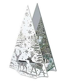 Reindeer Scene T Lite Holder
