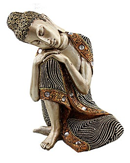 Thai Buddha Sitting Figurine