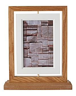 Wooden Suspended Photo Frame 10 x 15cm