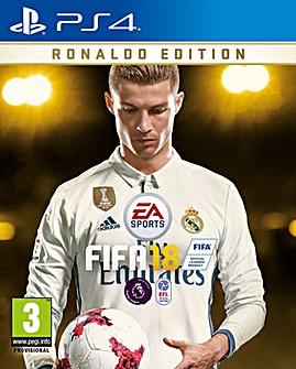 FIFA 18 - Ronaldo Edition PS4