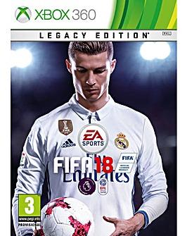 FIFA 18 - Legacy Edition Xbox 360