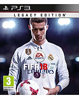 FIFA 18 - Legacy Edition PS3