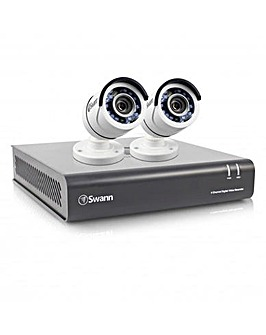 Swann 4channel 2camera 1080P CCTV kit