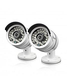 Swann 2PK Bullet Cameras TVI 3MP