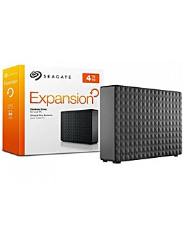 SEAGATE 4TB EXPANSION DESKTOP BLACK