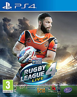 Rugby League Live 4 PS4