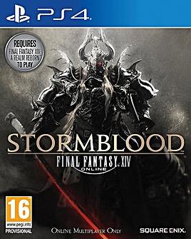Final Fantasy XIV Stormblood PS4