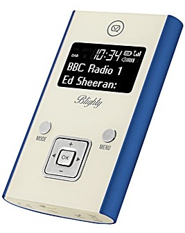 VQ Blighty Pocket DAB/FM Radio -� Blue