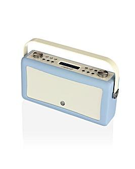 VQ Hepburn Mk II DAB/FM Radio  Blue