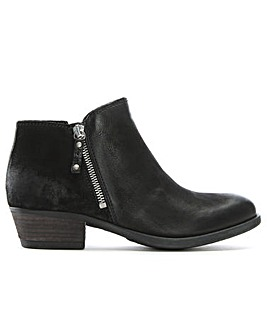 Moda In Pelle Besti Leather Ankle Boot