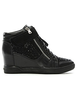 Daniel Pleco Diamante Wedge High Tops