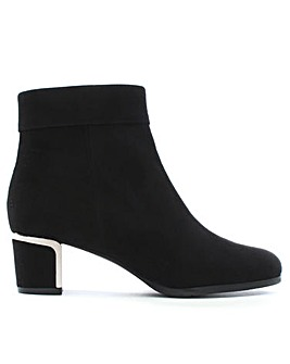 Daniel Enthusiasm Metal Trim Ankle Boot