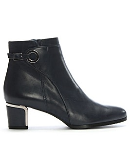 Daniel Enthusiastic Trim Heel Ankle Boot