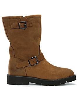 Daniel Goldeye Leather Biker Boots